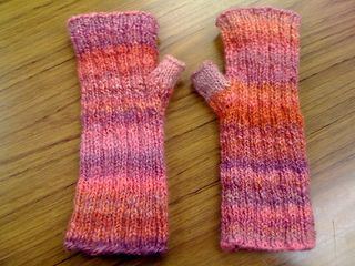 Thermograph mitts